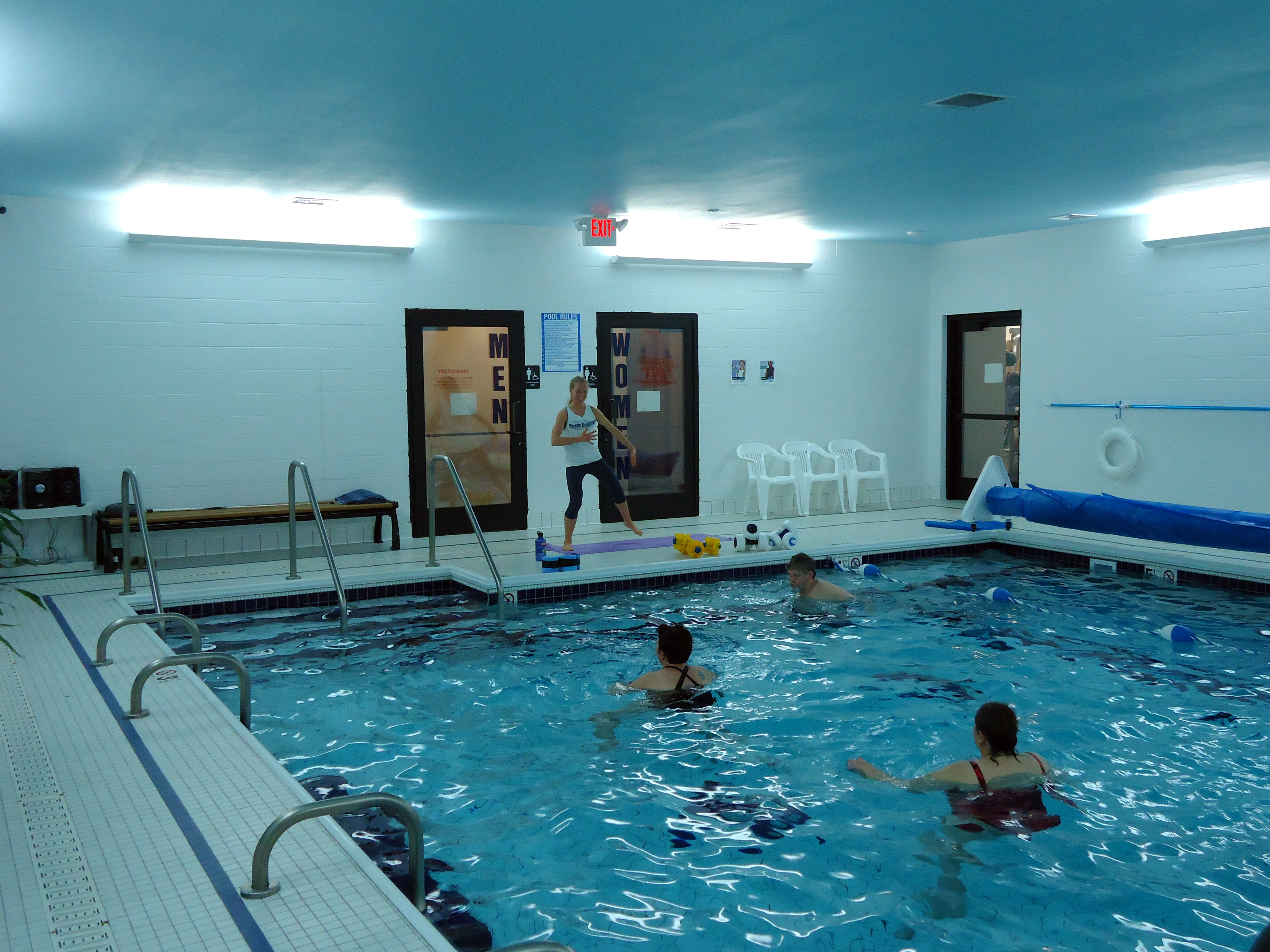 Warm water pool mountain valley fitness health - How to warm up swimming pool water ...