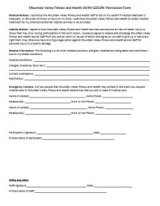 Individual Permission Form